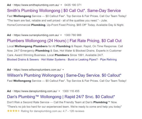 Google Service Search