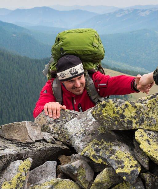RiseLocal Man Climbing